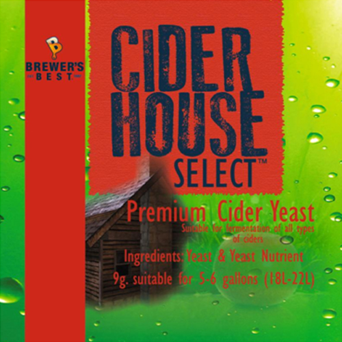 Premium Cider Making Yeast (Cider House Select)