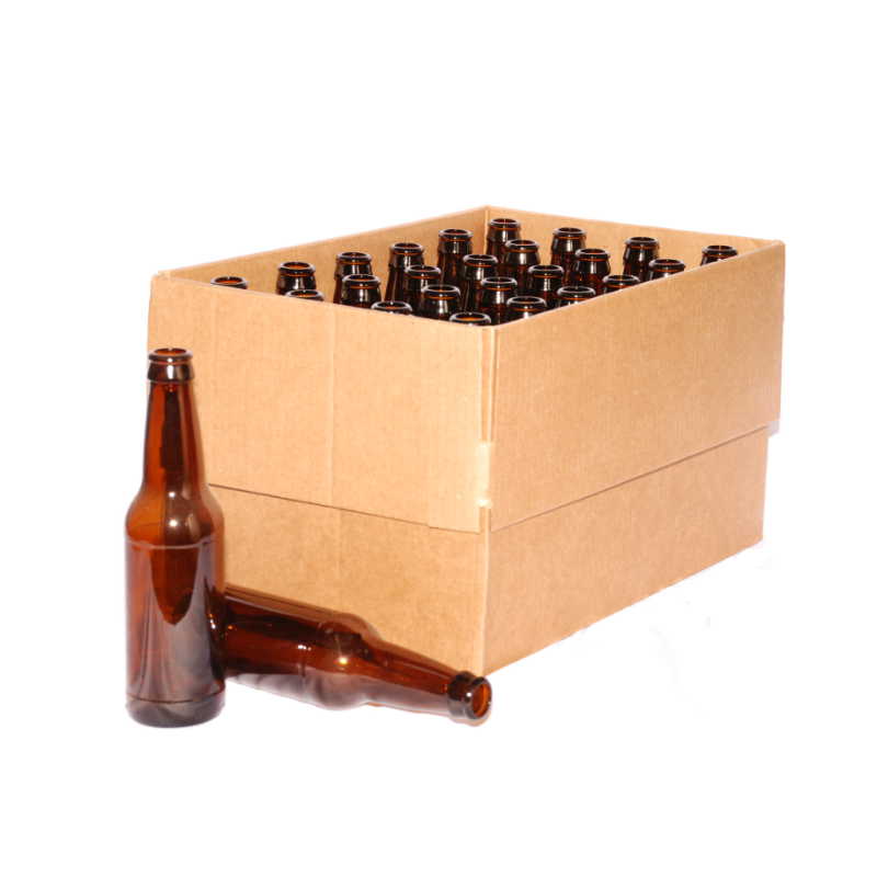 Beer Bottles 12 oz Case of 24 in Home Beer Brewing Supplies