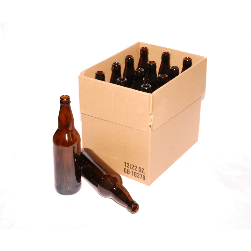 Beer Bottles 22 oz Case of 24 in Beer Brewing Supplies