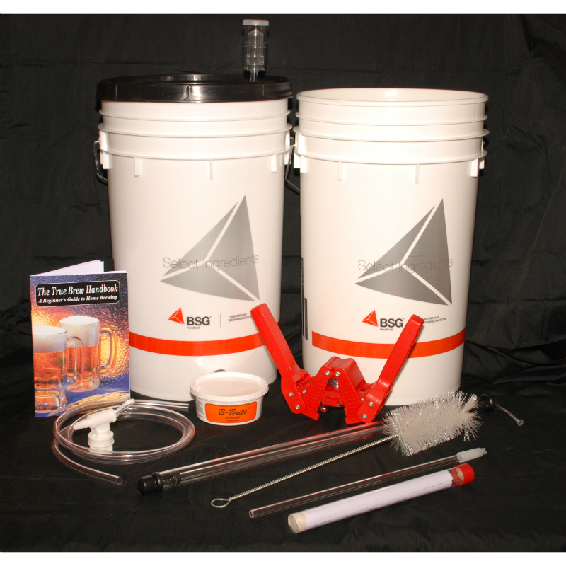 PIWC Beginner's Basic Beer Brewing Kit: Beer making Supplies