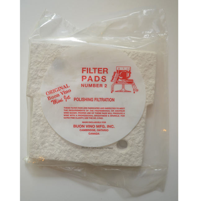 Pad for Buon Vino Mini Jet Pump Filter: Winemaking Supplies