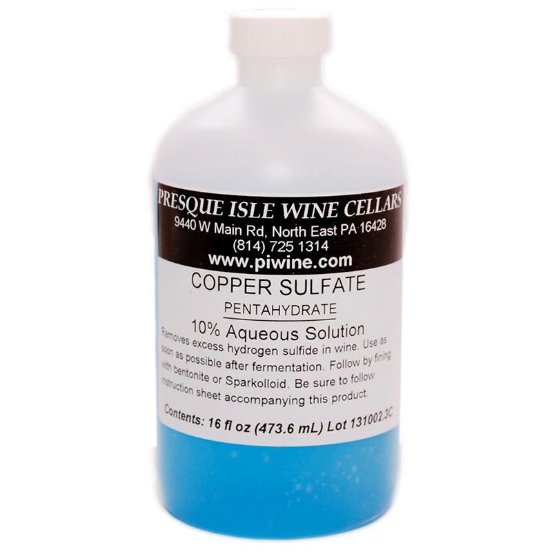 Copper Sulfate, Liquid 10% Solution