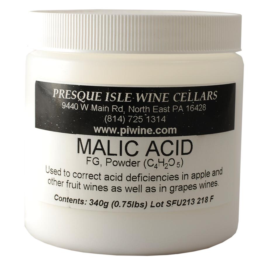 malic acid powder | wine making additives, Skeleton