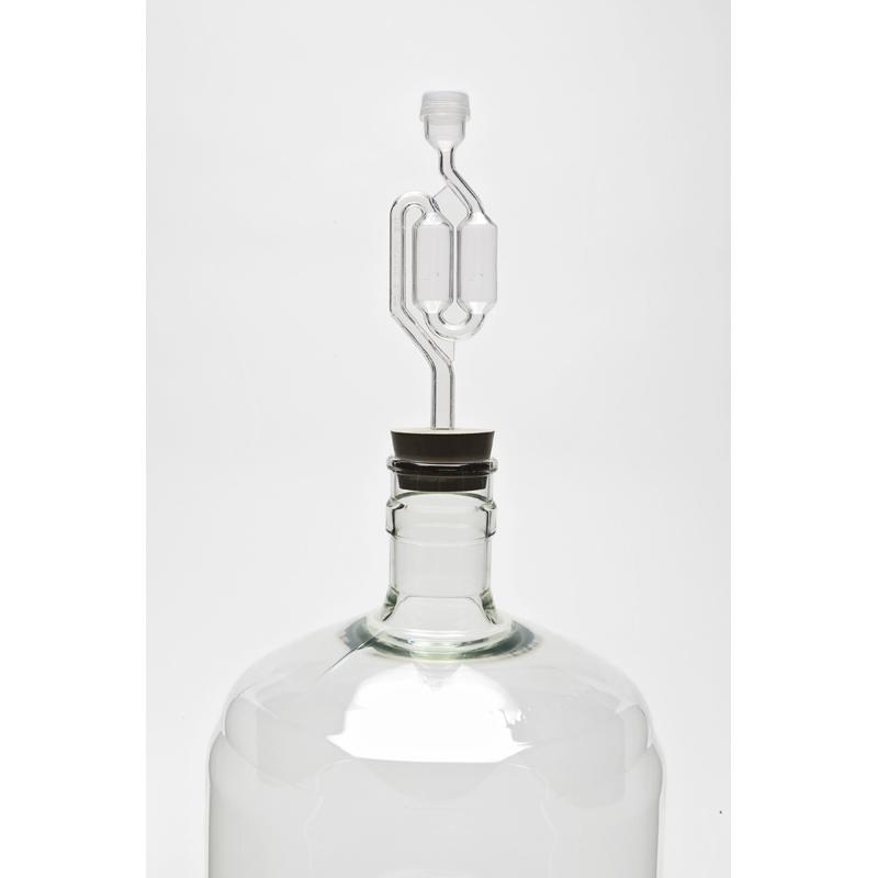 Bubbler Airlock for Wine Fermentation: s-shaped, twin bubble, s-bubble | Wine making Supplies