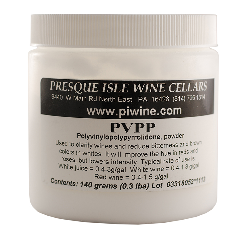 PVPP Wine Clarifying