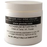 Potassium Bitartrate (Cream of Tartar) Powder promotes cold stabilization in wine   Winemaking Additives and Supplies