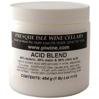 Acid Blend Powder for Winemaking: tartaric, malic and citric acids