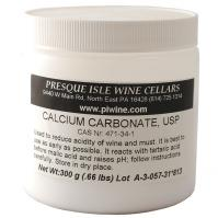 Calcium Carbonate Powder, USP: Commercial Bulk Size | Chemicals and Additives for Wine making
