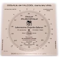 Ebulliometer calculation disc for calculating results | Winemaking testing and supplies
