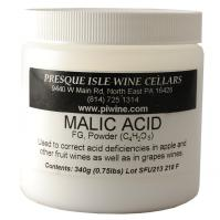 Wine Additive Acid Adjustment Malic Acid Powder | Winemaking Supplies
