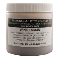 Natural Tannin Powder Fining and Clarifying Agent | Winemaking Supplies