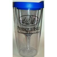 Travel Wine Glass with logo | Wine Gifts from Presque Isle Wine Cellars