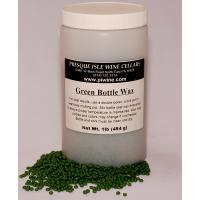 Wine Bottle Sealing Wax Beads Green   Wine making Supplies