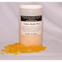 Wine Bottle Sealing Wax Beads Yellow   Wine making Supplies
