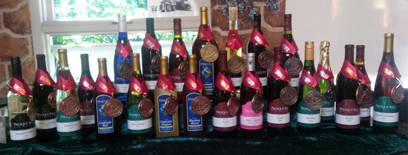 award winning wines from presque isle wine cellars