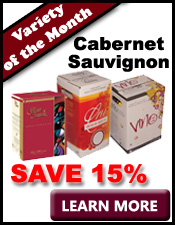 Cabernet Sauvignon Wine Variety of the Month: Save on Winemaking Concentrates and Wine