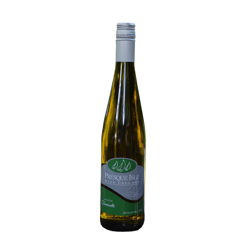 2017 Traminette White Wine Lake Erie Region