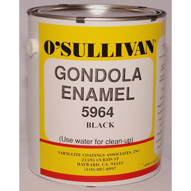 Black Enamel Paint (Gondola 5964): Gallon
