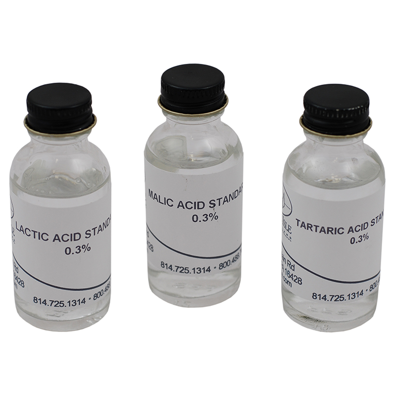 Tartaric, Malic & Lactic acid chromatography papers for Winemaking