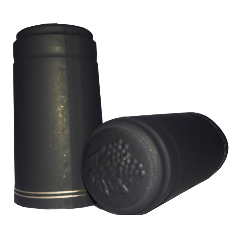 Capsules Black with Gold Stripe