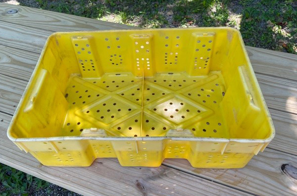 Plastic Grape Crate