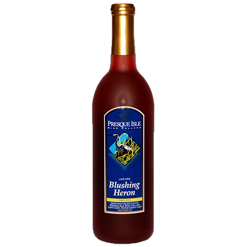 Blushing Heron Blush Wine | Award Winning Wine from Presque Isle Wine Cellars