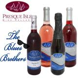 Blues Brothers Blueberry Wines Wine Package