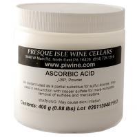 Ascorbic Acid Powder as a Wine making Additive