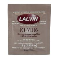 Wine Yeast Lalvin K1-V1116 (K1V) for whites and concentrate | Wine making Supplies