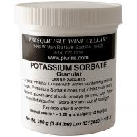 Potassium Sorbate used to prevent further wine fermentation | Winemaking Additives and Supplies