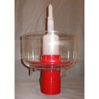 Wine Bottle Sanitizer /Rinser for Wine Bottle Draining Rack | Wine making Supplies