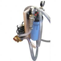 PIWC Wine Filter Unit: Plastic Housing with Brass Filter Pump