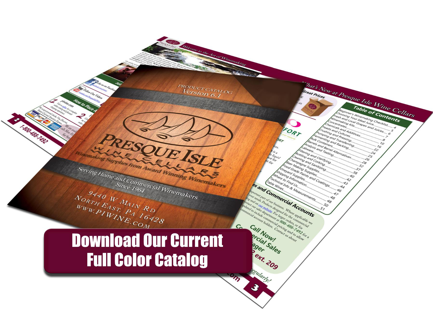 Download our current full color catalog