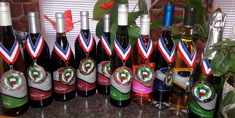 Purchase Award Winning Wines from Presque Isle Wine Cellars