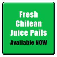 fresh chilean juice pails now available