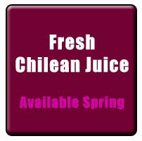 fresh chilean juice pails now available