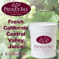 California Central Valley Juice for Wine making: Pails
