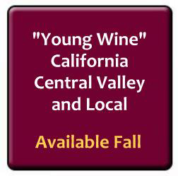 young wine now available