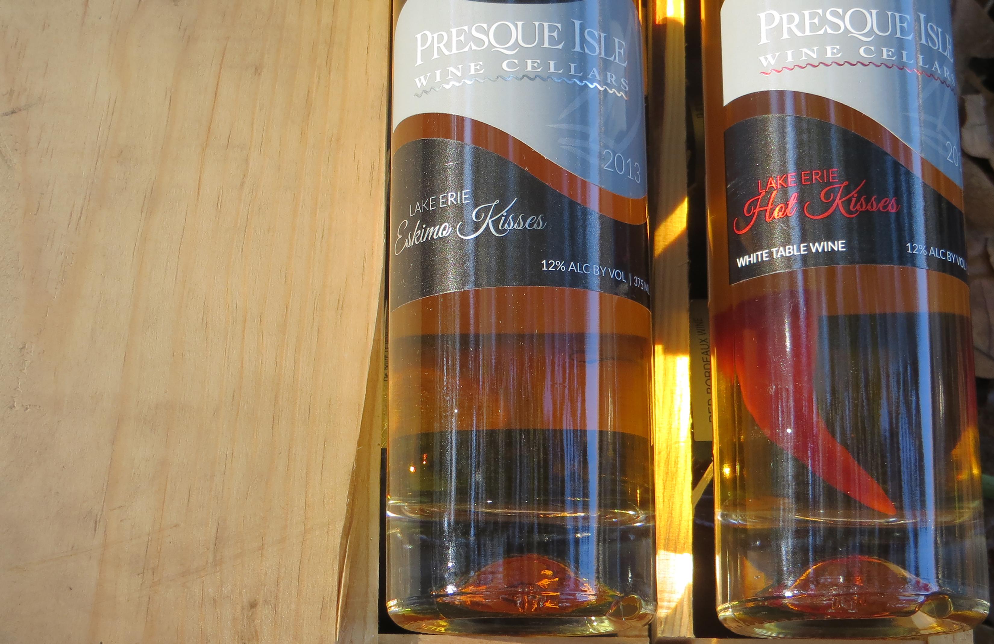 Kisses Wines at Presque Isle Wine Cellars