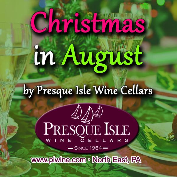 Christmas in August Wine Food Pairing